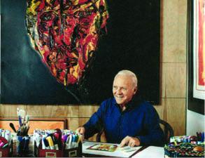 سرگرمي آنتوني هاپكينز در 73 سالگي