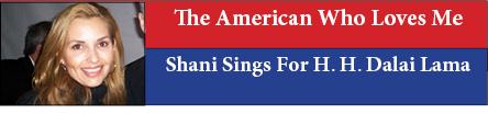 Shani Sings For H. H. Dalai Lama