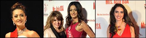 درجشنواره بزرگ انتخاب ملکه های زیبایی نماینده ای از ایران هم حضور داشت