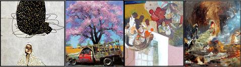 آثار برگزیده آرت اکسپو تهران در گالری ابرا
