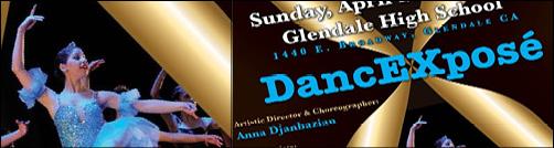 یکشنبه 28 اپریل درگلندل آکادمی رقص جانبازیان برگزارمی کند