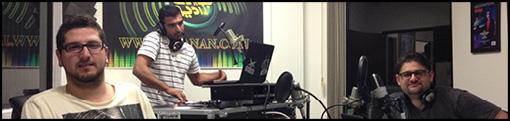 موفقیت برنامه رادیویی سه دی جی و مجری جوان در رادیو جوانان