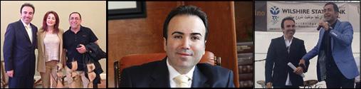پیام شایانی وکیل محبوب، مردمی ودلسوز جامعه ایرانی کالیفرنیا