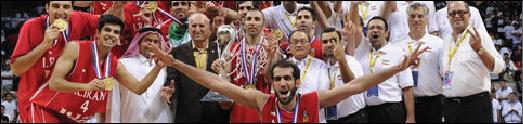 حامد حدادی و تیم ملی بسکتبال ایران فاتح جام ملت های آسیا شدند