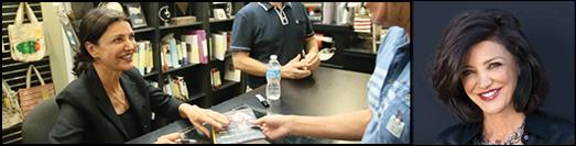 …شهره آغداشلو همین یکشنبه در کتابفروشی بارنز اند نوبلز در کلباسس