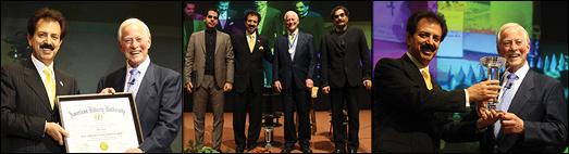 در تهران Dr. Brian Tracy اهدای دکترای افتخاری  به نویسنده و سخنران بزرگ و مشهور امریکایی