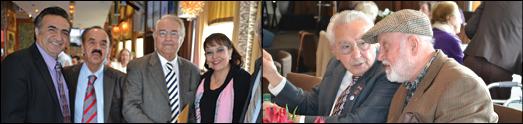 مهمانی نوروزی دکتر محمود رزائیان، پزشک سرشناس و پزوهشگر معروف با حضور مسئولان رسانه های ایرانی لس انجلس به روایت تصویر
