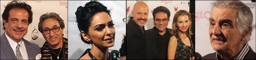 در  لوس آنجلس Shirin In Love مراسم افتتاحیه و رد کارپت فیلم