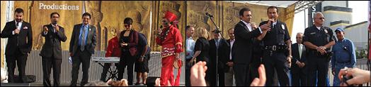 بزرگترین گردهمایی نوروزی ایرانیان در وست وود لسانجلس انجام شد