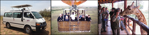 مسافران تور سافاری افریقا باخاطرات خوشی بازگشتند