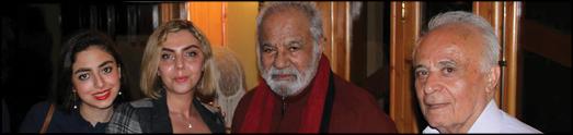با مرتضی فرزانه – جشن تولد 84سالگی ناصر ملک مطیعی
