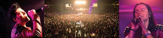 تور کنسرتهای نوروزی و سراسری کامران و هومن با موفقیت بی نظیر و با استقبال شایان هزاران هموطن برگزار شد