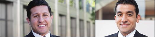 رضا ترکزاده و کورش ترکزاده دو وکیل جوان و مبارز و موفق ایرانی