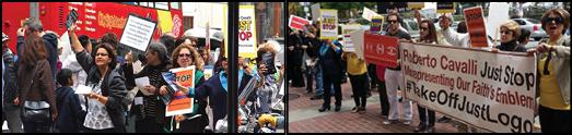 تظاهرات دانشجویان صوفی در سانفرانسیسکو