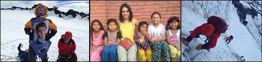 سارا سفری یک دختر شجاع تحصیلکرده ایرانی، برای کمک به دختران ستم دیده نپالی، راهی قله اورست است