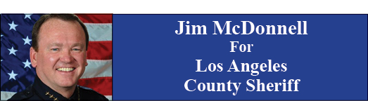 Jim McDonnell For Los Angeles County Sheriff