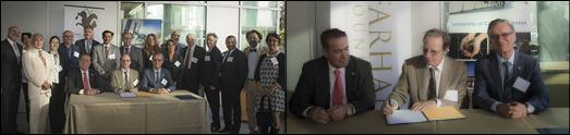 بنیاد فرهنگ در یک اقدام تاریخی تازه، توافقنامه ایجاد رشته فرعی ایرانشناسی در دانشگاه ارواین را امضا کرد