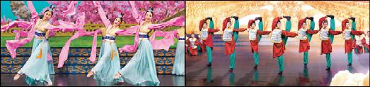شن یون نمایشی جهانی که در سراسر جهان با موفقیت دور از انتظاری روبرو شده است