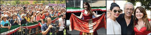 جشن نوروزی ایرانیان در جنوب کالیفرنیا