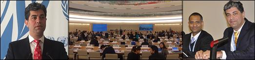 حضور بنیادکودک در مقر سازمان ملل در ژنو، سوئیس