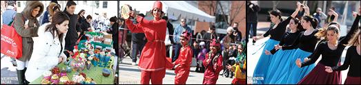 فستیوال بزرگ نوروزی در ویرجینیا