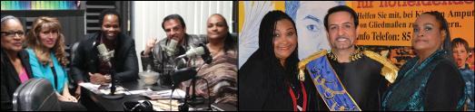 گفتگوی فرح شکوهی با خلیلا علی همسر سابق محمدعلی کلی و داوود روستایی در جوانان رادیو