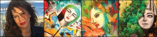 نمایشگاه آثار نقاشی هنرمند سرشناس،  پگاه والیزاد