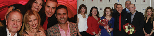 کریسمس پارتی دکتر حمیدرضا شاه محمدی با حضور چهره های معروف و هنرمندان و کارکنان کلینیک هایش