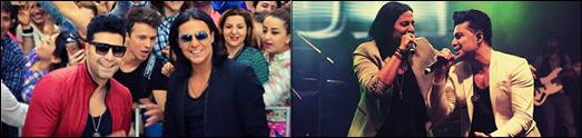 استقبال بی نظیر از کنسرتهای نوروزی کامـران وهومـن