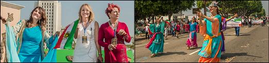 با تلاش عاشقانه مری آپیک و یارانش دومین جشنواره نوروزی لس آنجلس، با شکوه برگزار شد