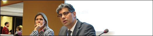 دکتر پیمان رئوفی در جلسه شورای حقوق بشر
