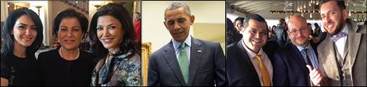 دومین جشن نوروزی در کاخ سفید با حضور میشل اوباما فرست لیدی امریکا برگزار شد