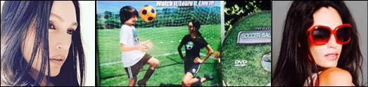 تاشا نیکول تهرانی سیندرلای فوتبال و سفیر صلح سازمان ملل متحد