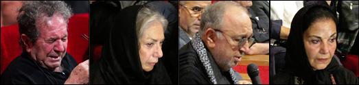 حاشیه و متن مراسم یادبود عباس کیارستمی