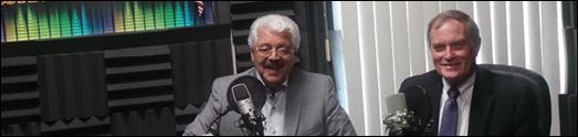 فارلی قراگزلو در رادیو جوانان با پروفسور جمز واتسن متخصص برجسته و جراح، درباره درمان سرطان و سفرش به ایران گفتگو کرده است