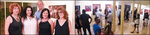 نمایشگاه آثار هنری شهلا سپهر بی بی: «با من برقص» با استقبال علاقمندان و هنردوستان روبرو شد