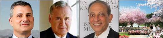 … مدیـر ارشد بورلـی هیلتـون جیمی دلشاد شهردار سابق بورلی هیلز و  Ted Kahn  مصاحبه با آقـای