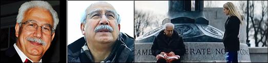 فرید بزرگمهر هنرمند ایرانی، بعنوان یک مهاجر سمبلیک پرچم امریکا را با آهنگ «جانی کش» در سوپربال حمل کرد