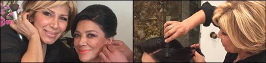 مینو بحری آرایشگر و میکاپ آرتیست ستارگان، سوپرمدل ها و ملکه های زیبایی