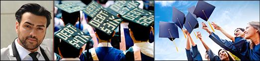 بحران بازپرداخت وام های دانشجویی درآمریکا و راه کار گریز از آن – آرین اقبالی