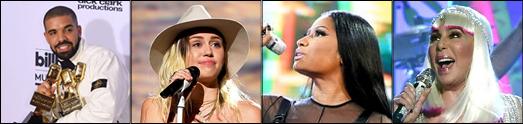 برندگان جوایز موزیک بیل بورد