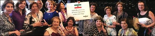 گردهمایی ایرانیان در وست لیک ویلج