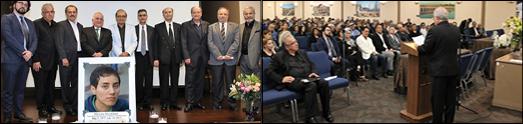 مراسم بزرگداشت دانشمند ریاضی دان و افتخارآفرین ایرانی، بانو مریم میرزاخانی در بنیاد ایمان