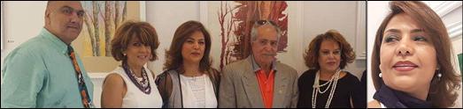 پنجشنبه 24 اگوست نمایشگاهی از آثار الهه زارع  در  لس آنجلس برگزار شد