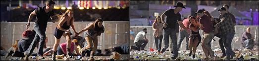 … به دنبال کشته شدن 59 نفر و زخمی شدن 500 نفر در تیراندازی لاس وگاس