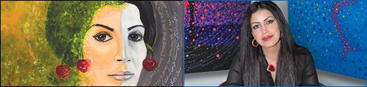 Blue 7 Gallery تولدى ديگر نمايشگاه نقاشيهاى مژده حبيبى ۱۰ و ۱۱ فوريه در