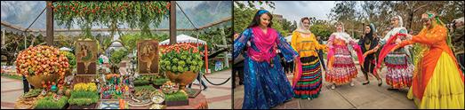 UCLA تصاویری از جشن نوروزی بنیاد فرهنگ در
