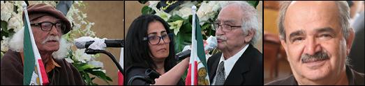 مجلس یادبود حسین مهری نویسنده و ژورنالیست نامدار