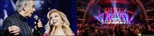 کنسرت دالبی تیاتر با اجرای بی نظیرعارف – لیلا فروهر