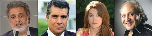 چهره های نامدار ایرانی بدنبال دریافت جایزه حقوق  بشر، به داریوش تبریک گفتند